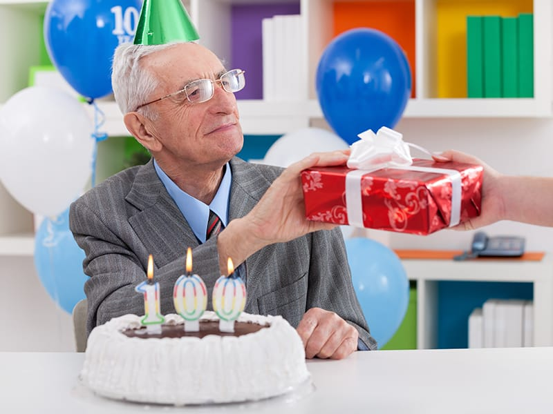 Echelon Health Journal Blog How to live to a ripe old age - 100th Birthday Party