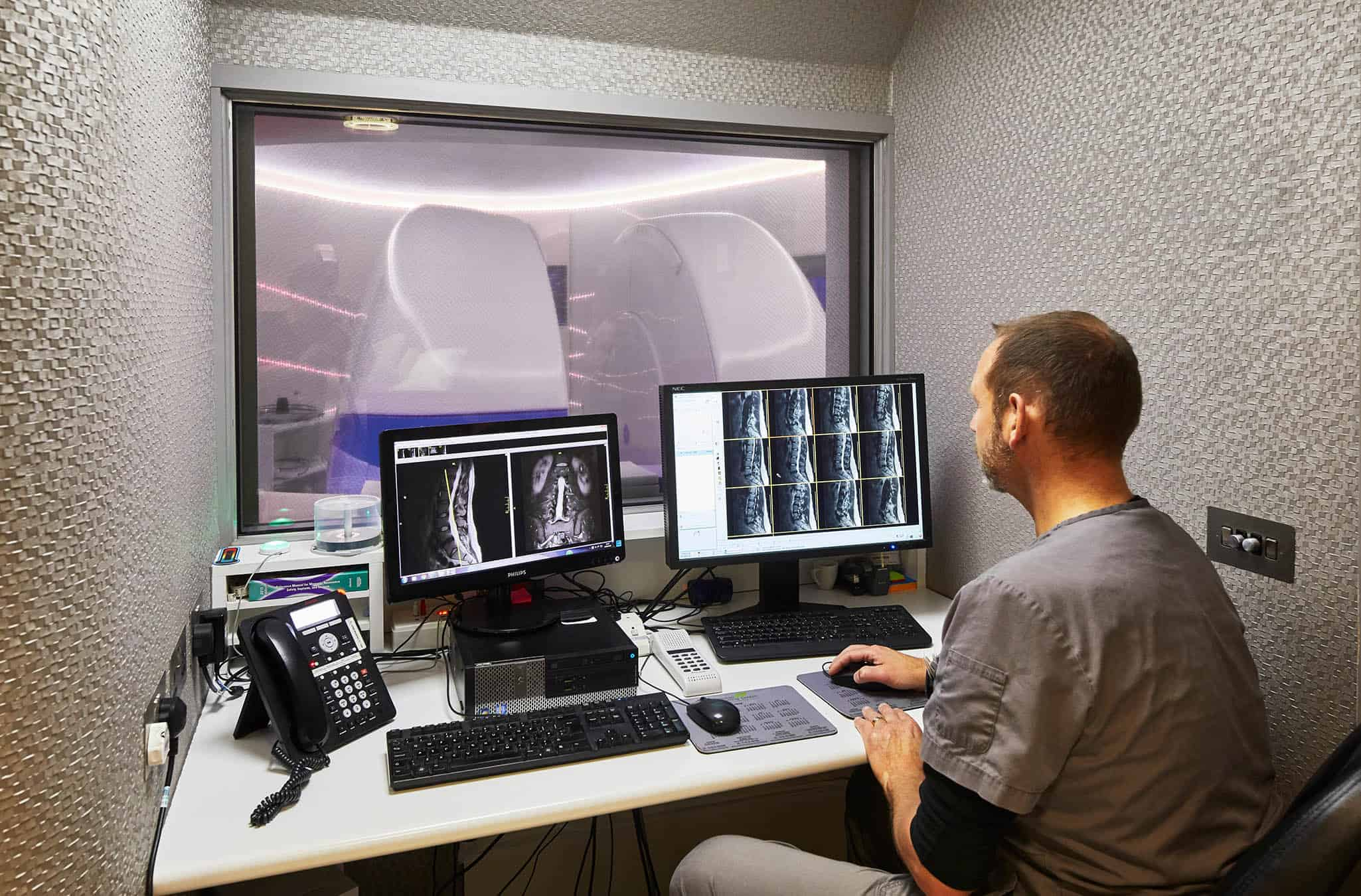 Echelon Health - MRI Control Room