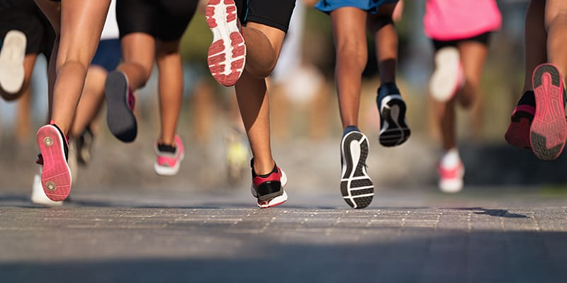 Echelon Health Journal Blog How to live to a ripe old age - Running to keep fit