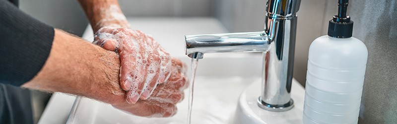 Echelon Health - advice on Covid-19 - washing hands