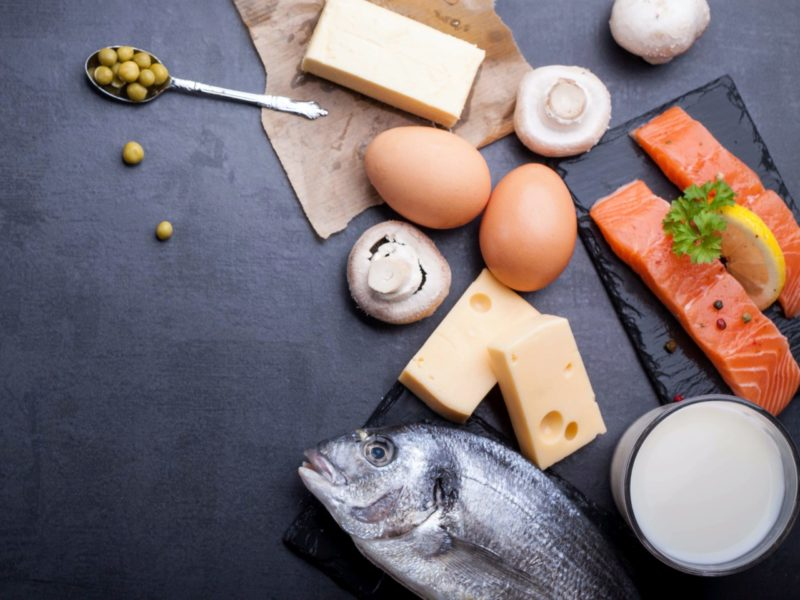Oily fish, eggs and cheese are fantastic sources of dietary vitamin D