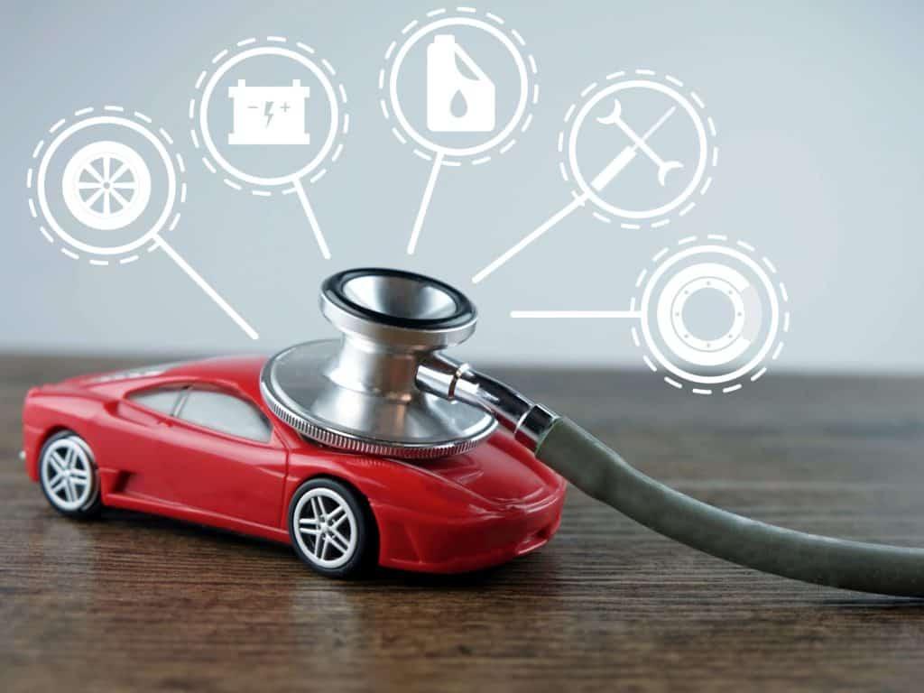 Full body MOT London - car stethoscope - Echelon Health