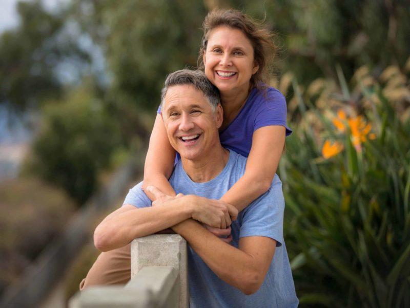 Happy couple - preventative health check London -Echelon Health -