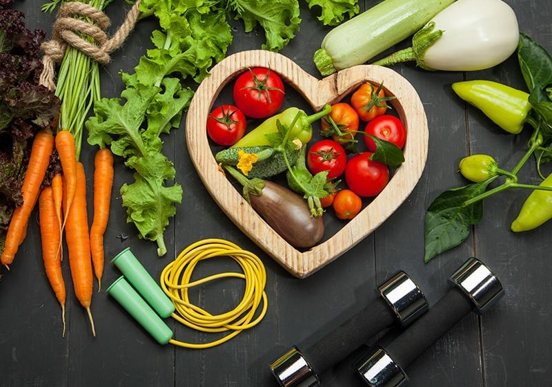 Preventative health - healthy lifestyle - colourful diet